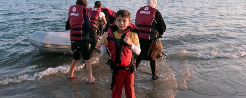 Bambino Migrante Crisi